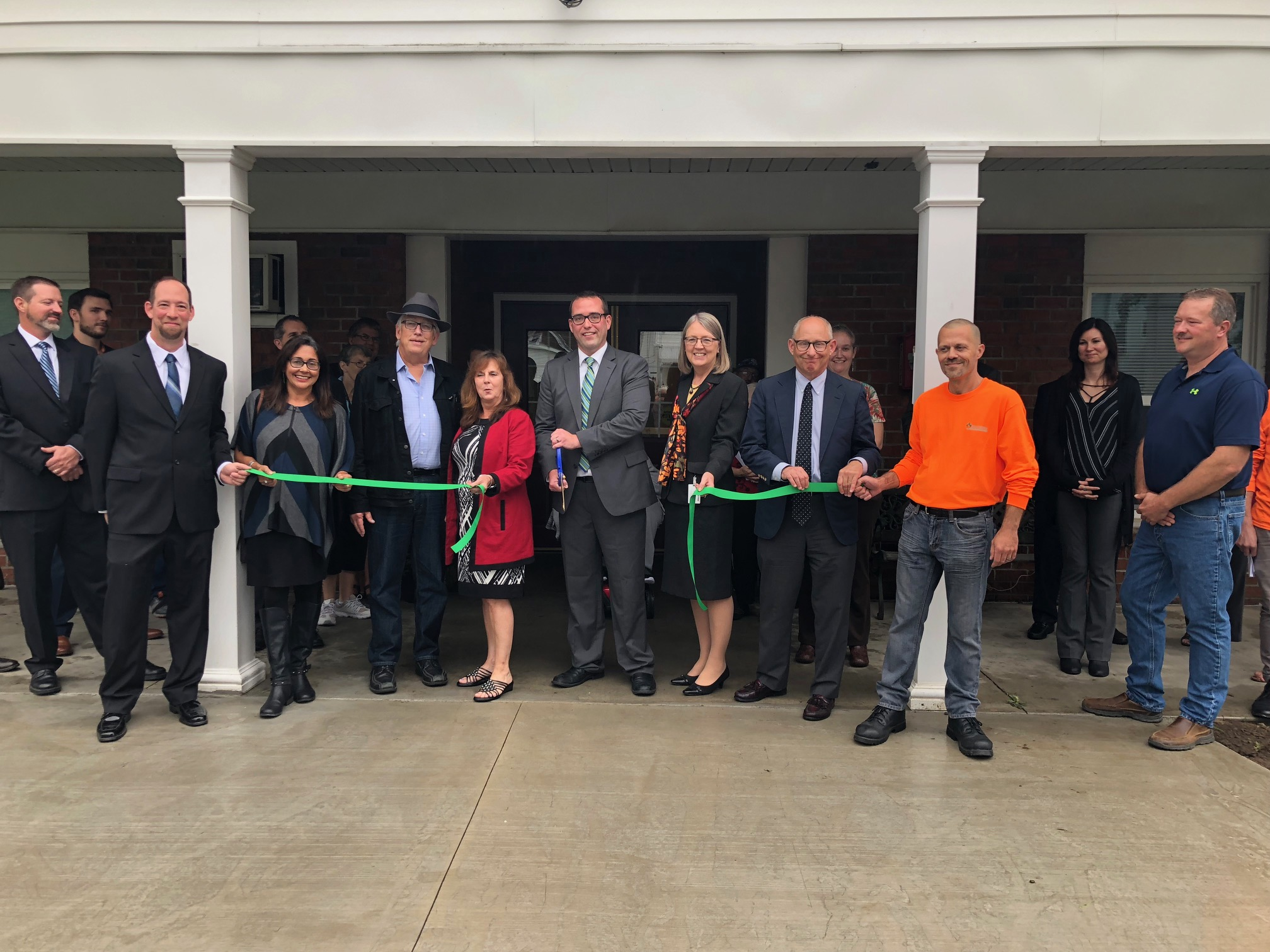 Hornell Community Apartments Ribbon Cutting Ceremony